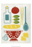 Sunday Dinner Print by Chariklia Zarris