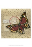 Le Papillon I Prints by Marianne D. Cuozzo