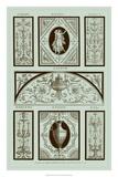 Pergolesi Panel in Celadon I Giclee Print by Michel Pergolesi