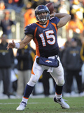 Denver Broncos and Pittsburgh Steelers: Tim Tebow Photographic Print by Jack Dempsey