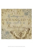 Butterfly Notes VI Prints