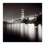 Golden Gate Study Print by Josef Hoflehner