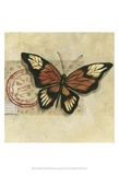 Le Papillon III Prints by Marianne D. Cuozzo