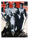 World War Ii: Soviet Poster Giclee Print