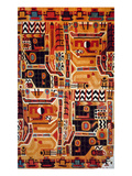 Peru: Tunic Fragment Giclee Print