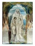 William Blake: Adam & Eve Poster