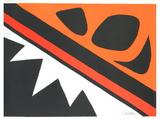 La Grenouille et la Scie Poster von Alexander Calder