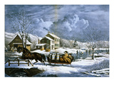 American Farm Scenes No. 4: Giclee Print by Currier &amp; Ives 