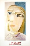 Tete de Femme (Marie-Therese Walter) Lminas por Pablo Picasso