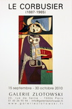 Galerie Zlotowski Affiches par Le Corbusier 