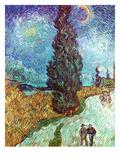 Van Gogh: Road, 1890 Giclee Print by Vincent van Gogh