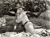 Silent Film Still: Picnic Photographic Print