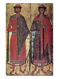Russia: Saints Icon Giclee Print
