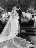 Silent Film Still: Wedding Photographic Print