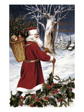 American Christmas Card Giclee Print