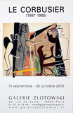 Galerie Zlotowski Posters par Le Corbusier 