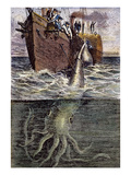 Sea Monster Giclee Print