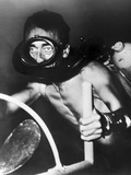 Jacques Cousteau, Photographic Print