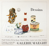 Dessins Collectable Print by Saul Steinberg
