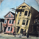 San Francisco Earthquake Photographic Print