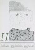 David Hockney - Two Boys Aged 23 or 24 - Koleksiyonluk Baskılar