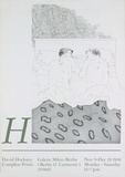 Two Boys Aged 23 or 24 Collectable Print by David Hockney