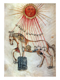 Zodiacal Horse Giclee Print
