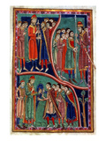 Investiture Of St. Edmund Giclee Print