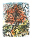 Sainte Famille Poster von Marc Chagall