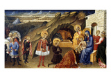 The Adoration Of The Magi Giclee Print by Giovanni di Paolo 