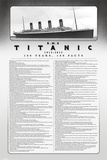 Titanic 100 Years-100 Facts Posters