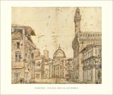 Piazza della Signoria, Florence Posters by Baldassare Lanci