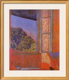 Open Window Print by Pierre Bonnard
