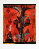 Homes of the Tree Collectable Print by Paul Klee
