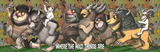 Where The Wild Things Are - King Max Posters by Maurice Sendak