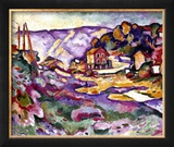 Braque: L&#39;Estaque, 1906 Framed Giclee Print by Georges Braque