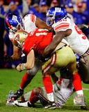 Osi Umenyiora & Jason Pierre-Paul Sack NFC Championship Game Photo