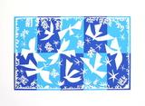 Polynesie La Ciel Sérigraphie par Henri Matisse