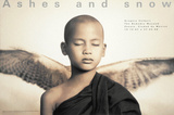 Winged Monk, Mexico City Verzamelposters van Gregory Colbert