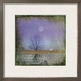 Moonlight in Vermont Prints by Dawne Polis