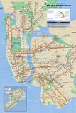 Nova York - metrô Fotografia