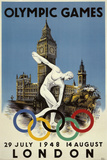 London 1948 Olympics Prints