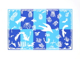 Polynésie, la mer Sérigraphie par Henri Matisse