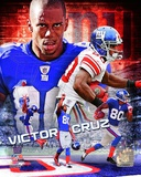 NFL Victor Cruz 2012 Portrait Plus Photo