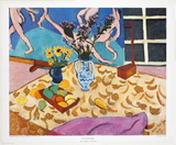 Still Life with Dance Print by Henri Matisse