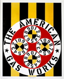 The American Gasworks Collectable Print by Robert Indiana