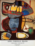 The Look Posters by Karel Appel