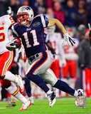 Julian Edelman 2011 Action Photo