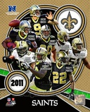 New Orleans Saints 2011 NFC South Division Champions Team Composite Photo