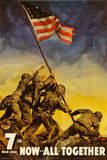 Iwo Jima - Now All Together Print